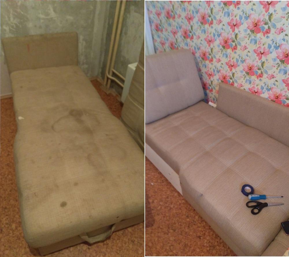 Химчистка диванов, кресел и стульев
